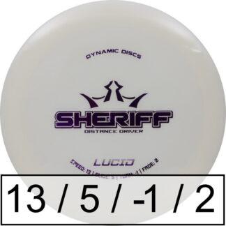 Dynamic Discs Sheriff Lucid