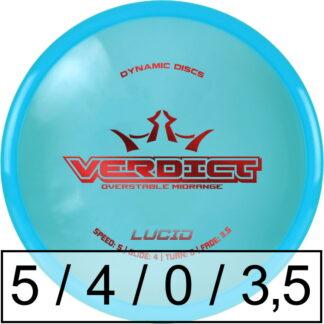 Dynamic Discs Verdict Lucid