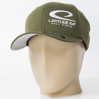 Latitude 64 Flexfit Swoosh Olive