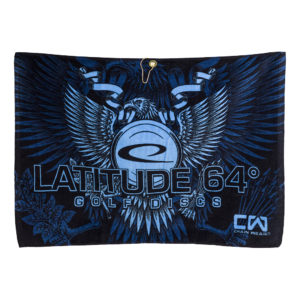 Latitude 64 Sublimated Towel Eagle