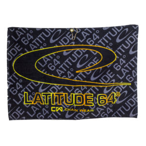 Latitude 64 Sublimated Towel Gold