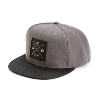 Prodigy Disc Snapback Square Gray