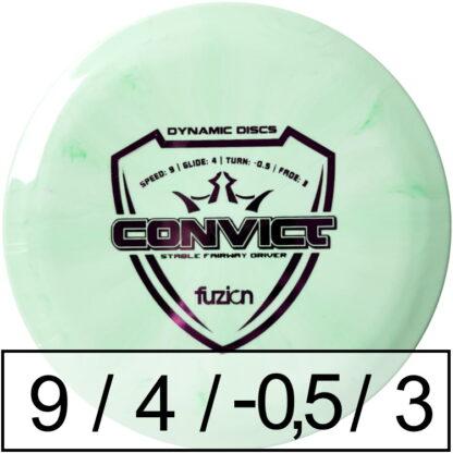 Dynamic Discs Convict Fuzion