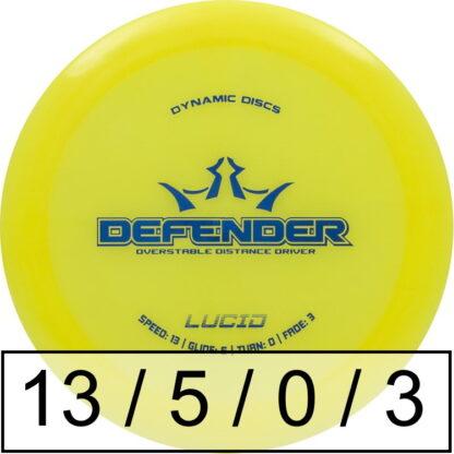 Dynamic Discs Defender Lucid