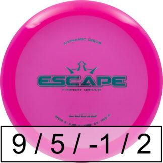 Dynamic Discs Escape Lucid