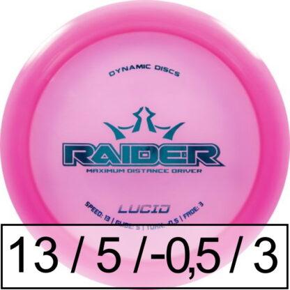 Dynamic Discs Raider Lucid