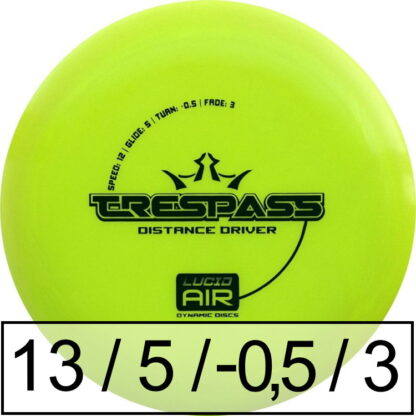 Dynamic Discs Trespass Lucid Air
