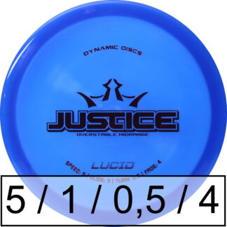 Dynamic Discs Justice Lucid