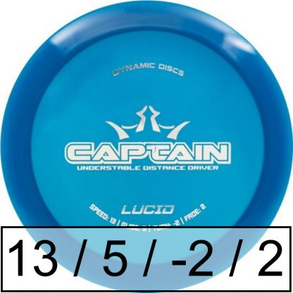 Dynamic Discs Captain Lucid
