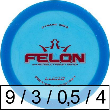 Dynamic Discs Felon Lucid