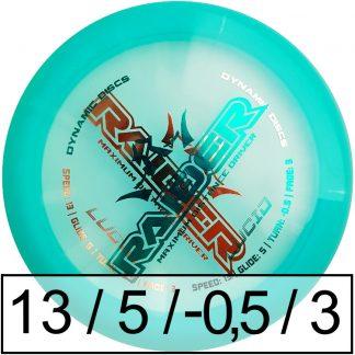 Dynamic Discs Raider Lucid Misprint