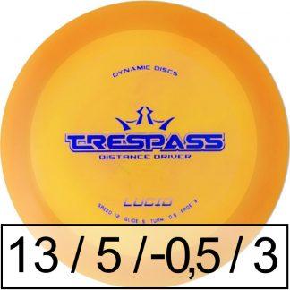 Dynamic Discs Trespass Lucid
