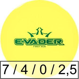 Dynamic Discs Evader Lucid First Run
