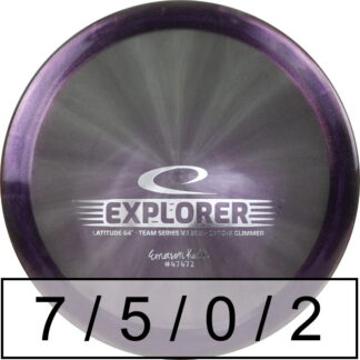 Latitude 64 Explorer Emerson Keith Opto-X Glimmer (v1 2021)