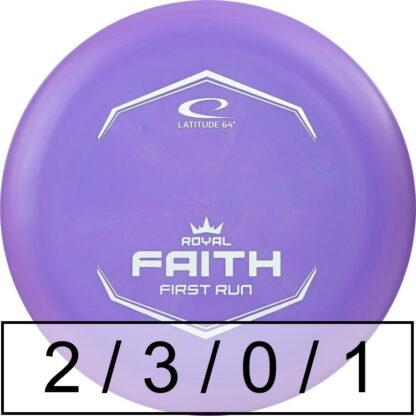 Latitude 64 Faith Royal Sense First Run